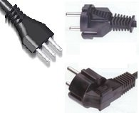 Cable cords with plug